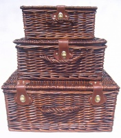 Vintage Brown Hampers