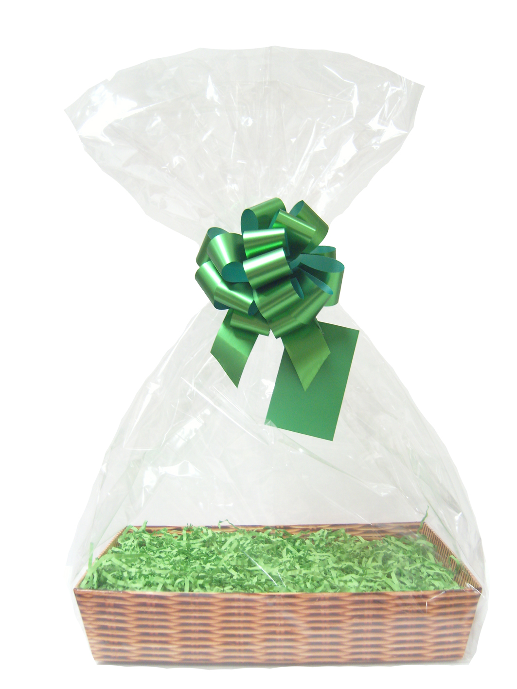 Gift Basket Accessory Kit - 21x16 - GREEN SIZE A