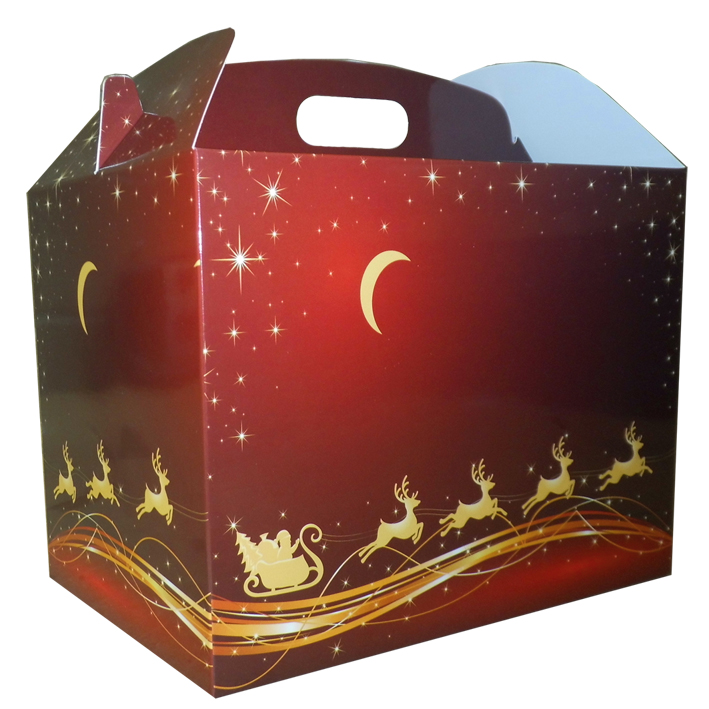 Gable Box - 24x18x16 (pk 10 Large) - REINDEER