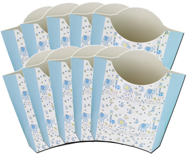 Pack of 10 POP-UP BOXES 26x15x27cm - LITTLE BOY