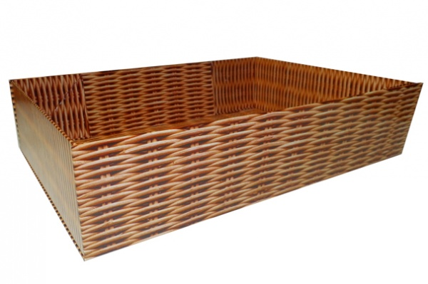 Easy Fold Gift Tray (20x15x5cm) - Small WICKER
