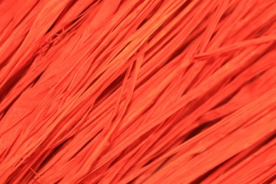 Raffia - 250g bag - ORANGE